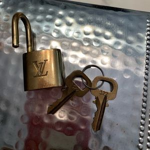 Louis Vuitton lick and keys